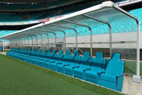 El estadio tiene capacidad para 55 mil personas sentadas, que disfrutará...