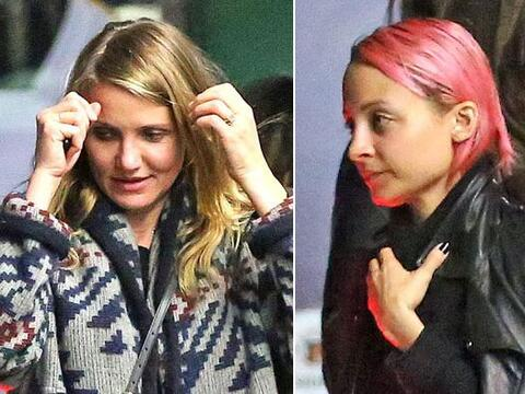 Drew Barrymore, Nicole Richie, Gwyneth Paltrow y Cameron Diaz se fueron...