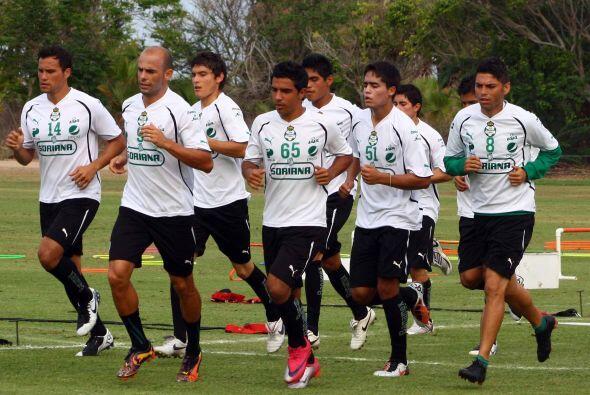 Santos Laguna se prepara para sacarse la espina del pésimo Torneo Clausu...