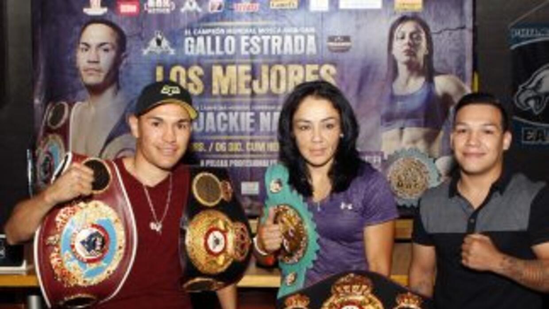 ''Gallo'' Estrada y Jackie Nava estelarizarán función de box en Sonora (...