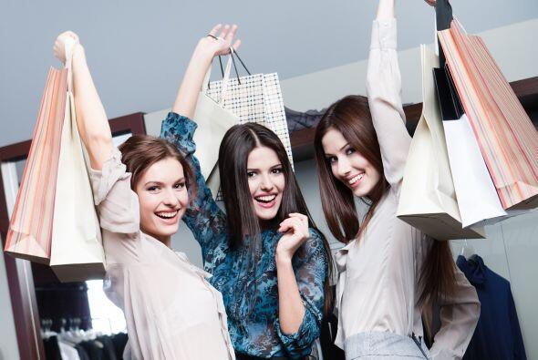 """Otras respuestas populares fueron """"Salir de compras sola o con mis amiga..."""