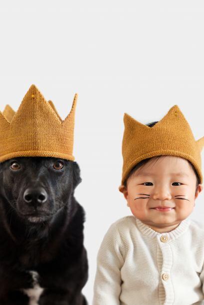 La reina y el rey.