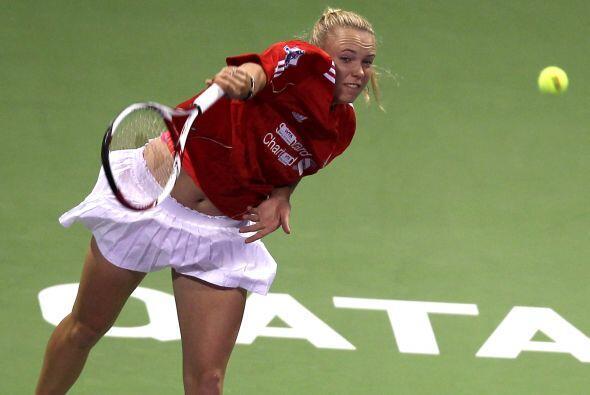 Carolina Wozniacki es la dueña del primer puesto del ranking mundial del...
