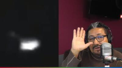 """""""Esto ya me tiene paniquiado"""": El Feo reacciona a nuevo avistamiento de OVNI"""