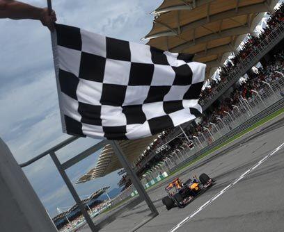GP de MALASIA, 4 de abrilSebastian Vettel y Mark Webber consiguieron un...