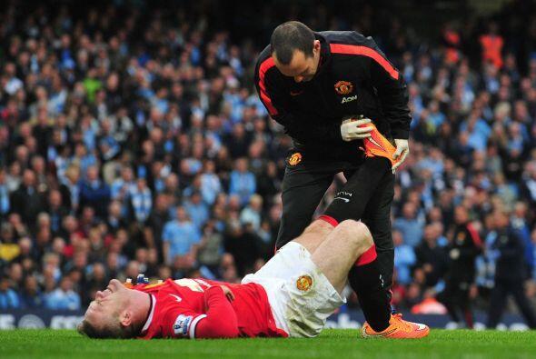 Y el mismo Rooney se dolió en la parte final del juego, tal vez porque a...