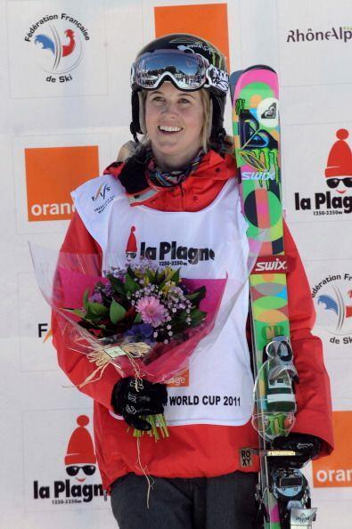 La esquiadora Sarah Burke fue una multicampeona en estilo libre y ganado...