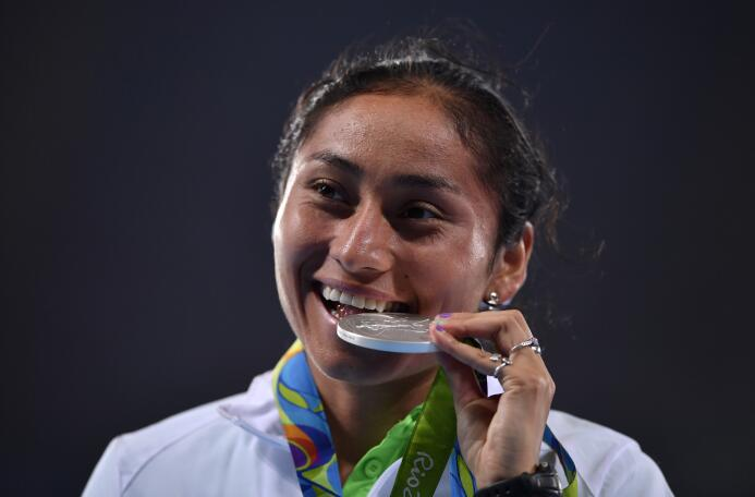 Lupita González, la guerrera del atletismo mexicano GettyImages-59222442...