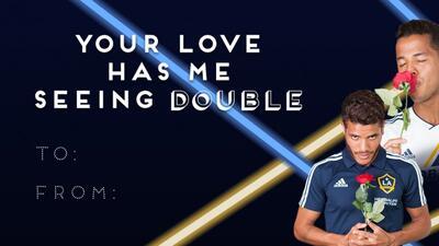 Celebrando el día de San Valentín con los #SoccerGrams de la MLS
