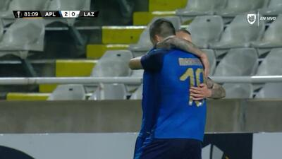 ¡GOOOL! Sasa Markovic anota para Apollon Limassol