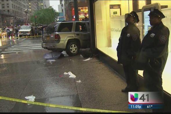 El accidente dejó al menos siete personas heridas y afortunadamente ning...