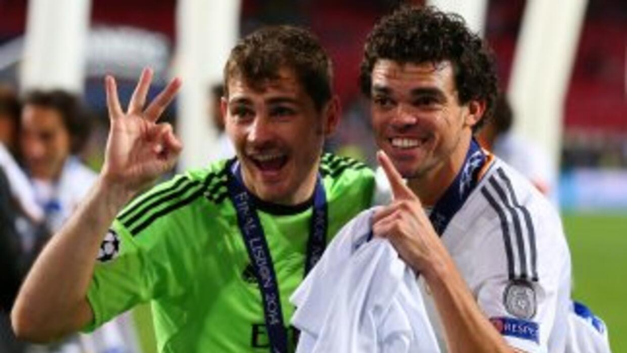 Casillas ganó su tercera Champions League con el equipo Merengue.