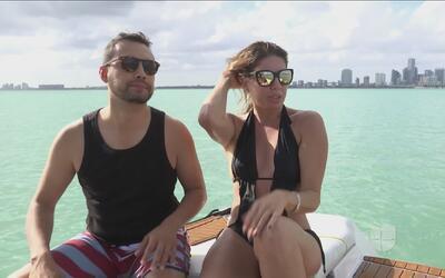 Un duro reto en las playas de Miami, convirtió en rivales a nuestro Luis...
