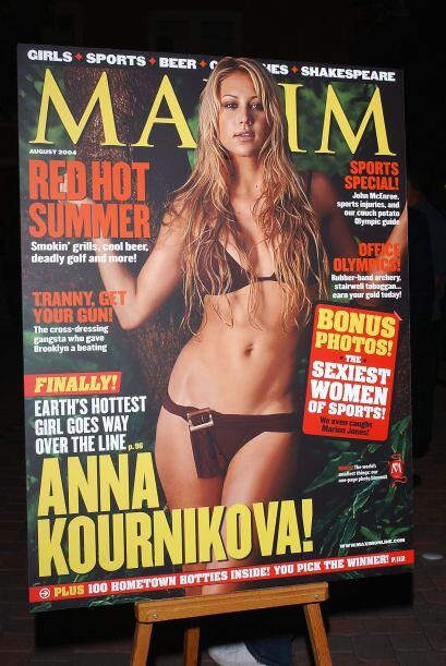 ¿Alguna duda de que Anna Kournikova es una de las tenistas más sexis de...