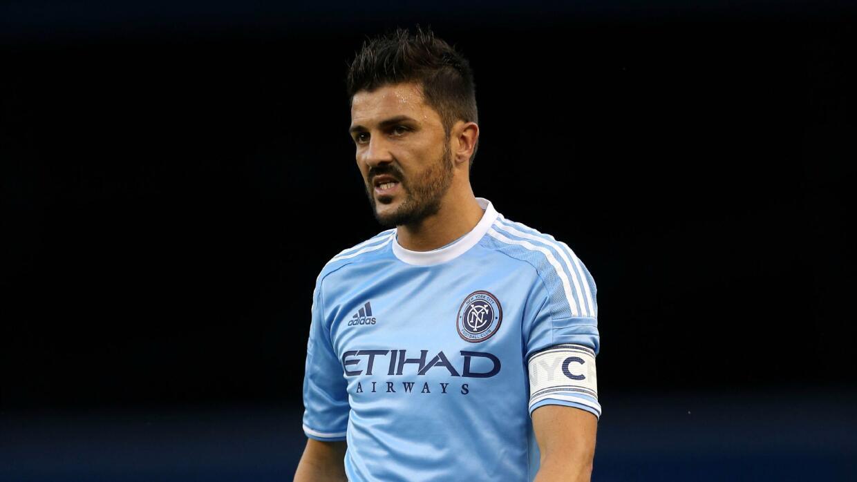 David Villa reacciona frustrado, New York City FC