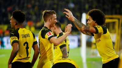 En fotos: ¡Triunfazo! Dortmund remontó al Bayern y le sacó siete puntos de ventaja