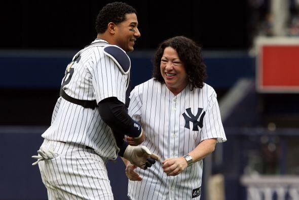 La magistrada puertorriqueña es una aficionada al béisbol. Cuando era ju...