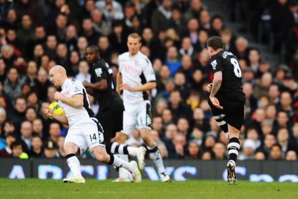 En otro de los partidos, Newcastle madrugó al Fulham con un gol de Danny...