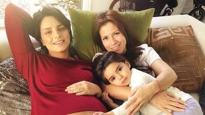 """""""A punto de explotar"""": Aislinn Derbez cuenta los minutos para dar a luz a su bebé"""
