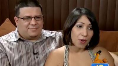 Una pareja con estrella