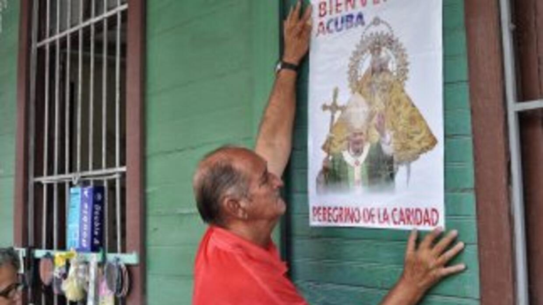 """Los católicos cubanos esperan que el papa Benedicto XVI proclame """"venera..."""