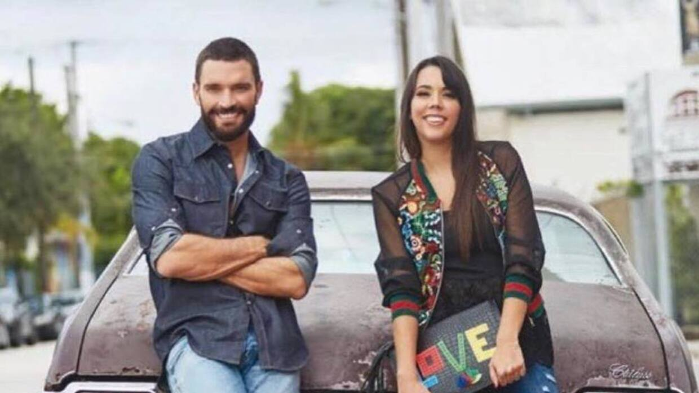 Julián Gil y su hija Nicolle Gil
