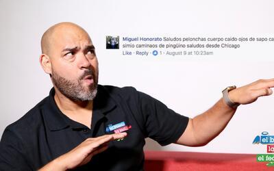 Raúl sabe cómo responder a sus haters y fieles seguidores en Facebook