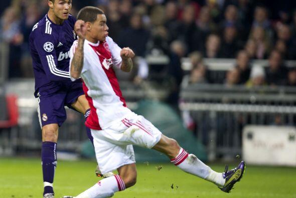 Más tarde llegó el show del portugués Cristiano Ronaldo.
