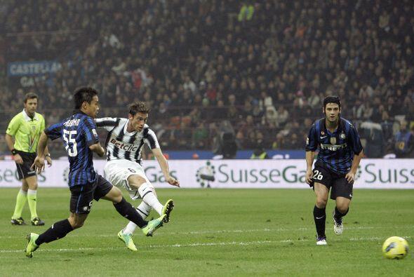 Pero Claudio Marchisio le sacó las esperanzas luego de anotar su gol.