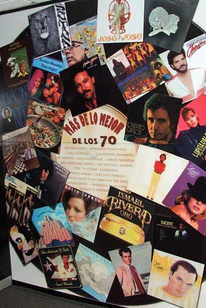 Y la salsa en la decada de los setenta. ?Tienes uno de esos discos LP en...