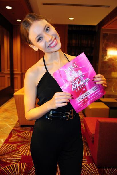 Mariana Torres de México, audicionó en Houston. Ella es una de bellas qu...