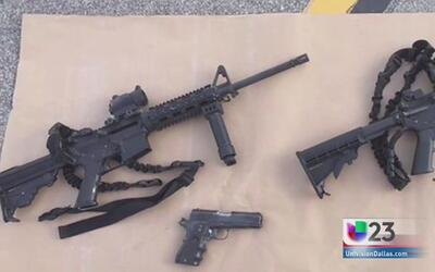Armas de tiroteo en CA compradas en TX