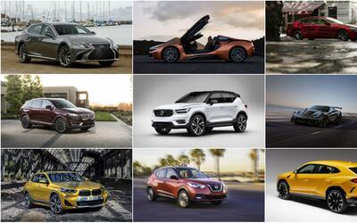 21 carros nuevos confirmados para EEUU en 2018