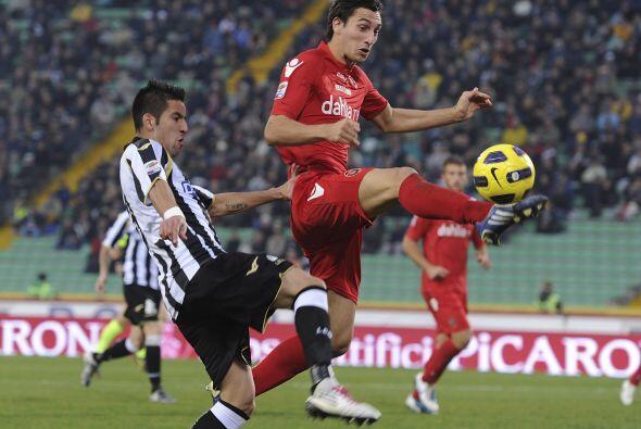 En duelos que resultaron con empate, primero el Udinese igualó 1-1 con e...