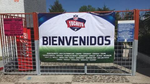 Los New Orleans Saints hicieron mancuerna con la NFL México para...