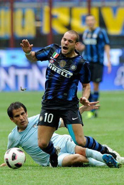 El 'tulipán' del Inter de Milán es de lo más rescatable de este club, qu...