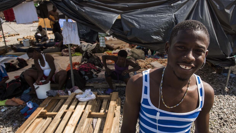 Orenga dice haber salido de Togo huyendo de la violencia.