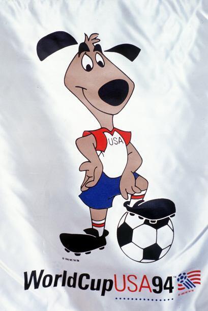 Striker fue el encargado de animar el Mundial realizado en Estados Unido...