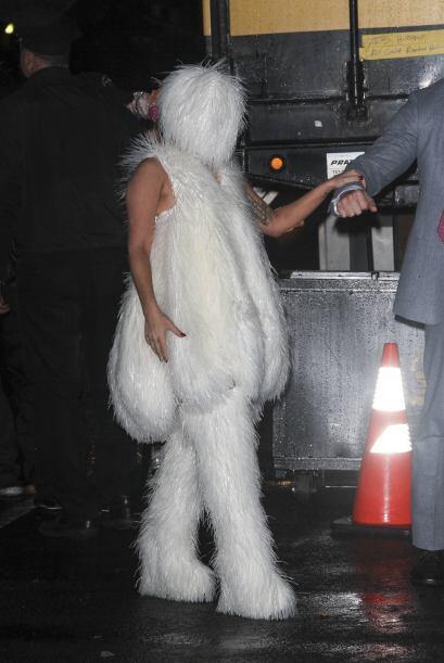 Tantas fueron las dificultades que el estilo esquimal dio a Gaga, &iexcl...