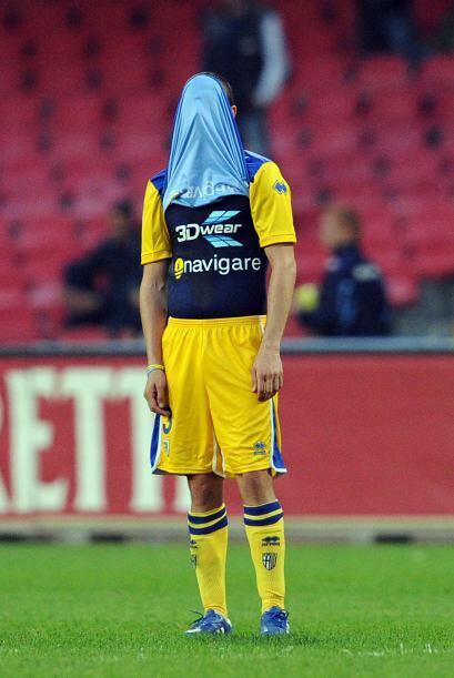 Parma no podía creer que una vez más cayó en el torneo y sigue en puesto...