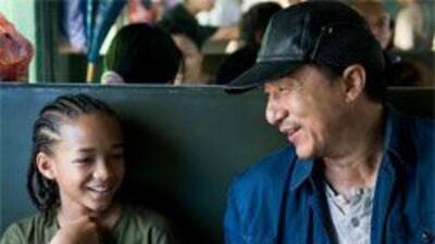 La pareja del año sin duda alguna, Jaden Smith y Jackie Chan