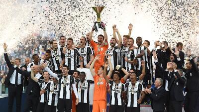 Juventus celebra el Scudetto con goleada sobre Sampdoria