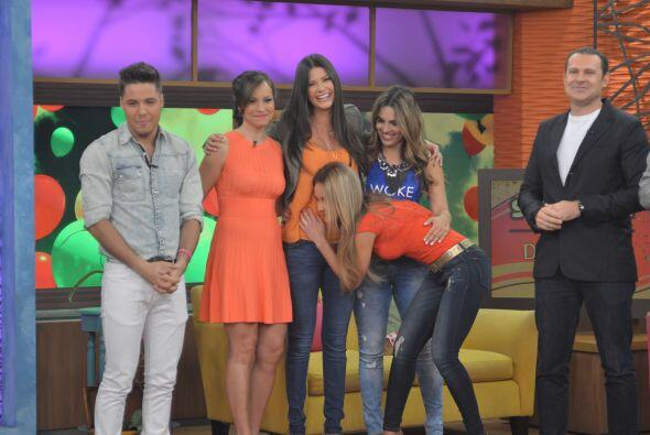 Ximena fue una de las más emocionadas pues recordó la hermosa etapa que...