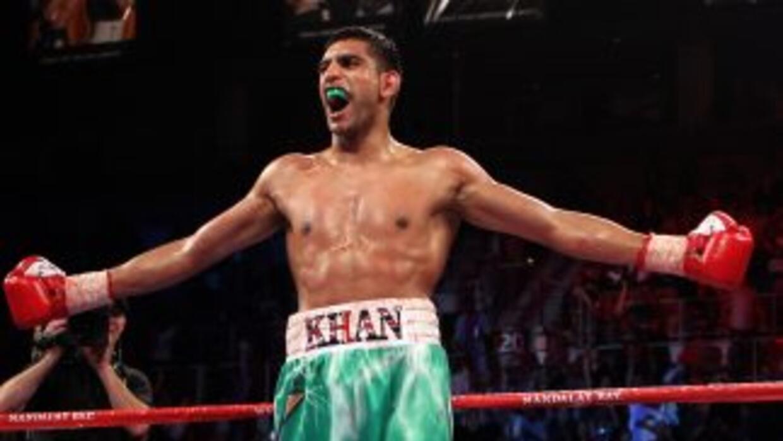 Amir Khan venció por nocaut efectivo a Zab Judah y se proclamó campeón s...