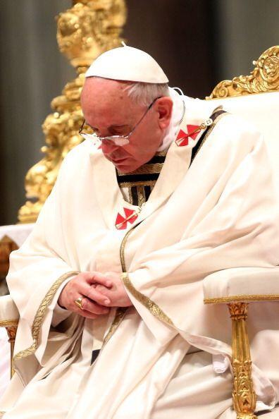 Dicha celebración pone fin a esta Semana Santa, la segunda de Bergoglio...