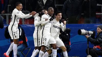 CSKA empató 1-1 con Mónaco