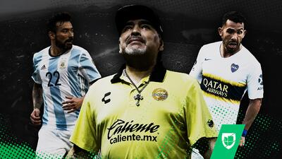 Tevez y Lavezzi son los refuerzos que Maradona quiere para Dorados de Culiacán