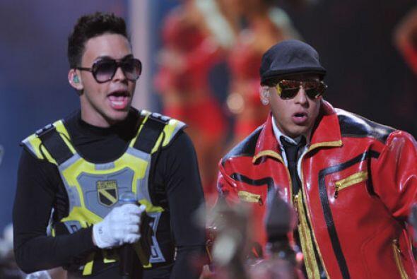 Y además compartió el escenario con Daddy Yankee, ¡fue un tremendo junte...