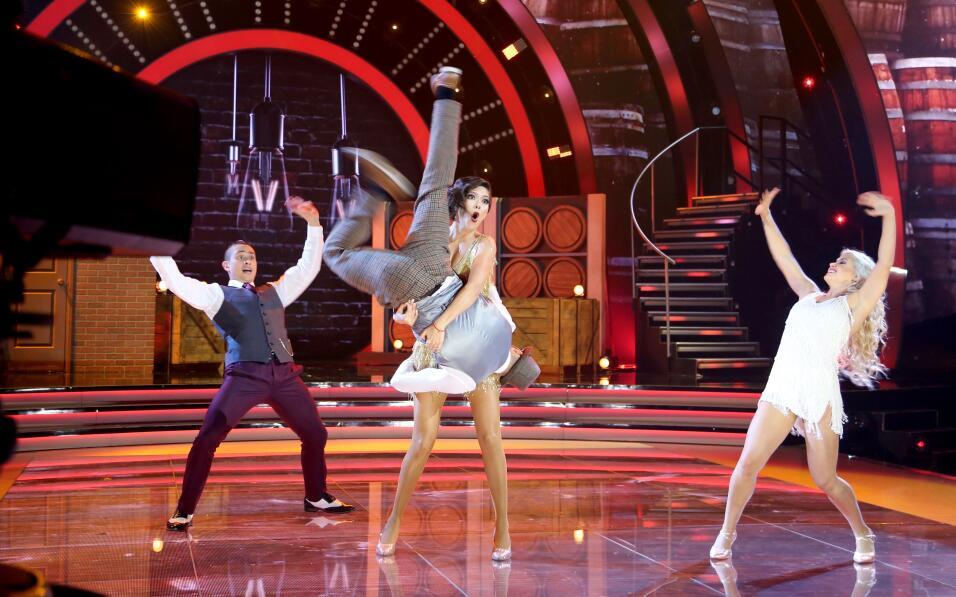 Ana Patricia octava gala de Mira Quién Baila