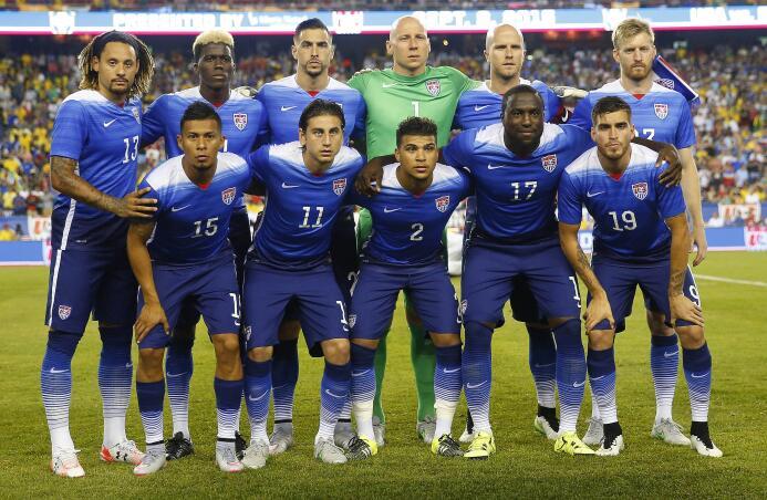 Selección de Estados Unidos, EE.UU., USA